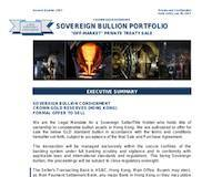 Analysis of Sovereign Bullion Portfolio - Crown Gold Reserves